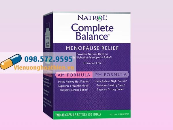 Thuốc sinh lý nữ: Natrol Menopause Formula