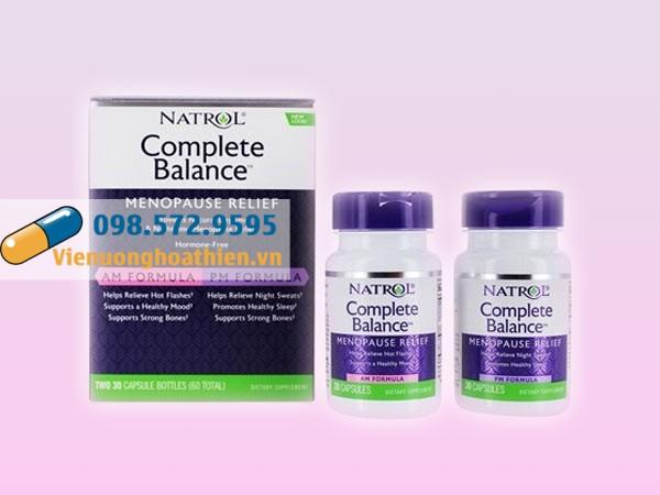 Natrol Menopause Formula hiện đang được bán tại các nhà thuốc trên toànq quốc