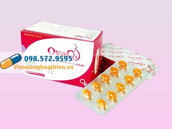 OvaQ1 hiện đang được bán tại các nhà thuốc trên toàn quốc