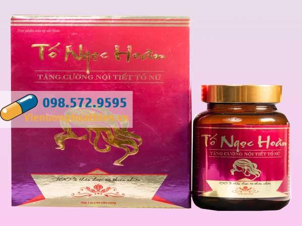 Tố Ngọc Hoàn hiện đang được bán tại các nhà thuốc trên toàn quốc