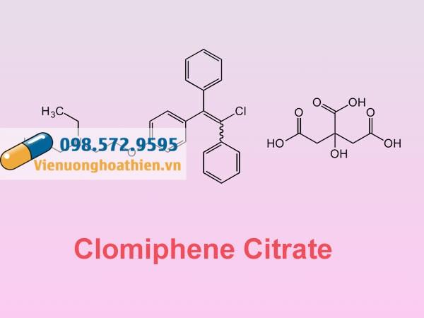 Clomiphene Citrate- Thành phần có trong Vaticus