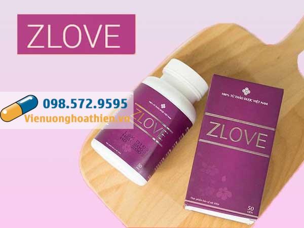 Mỗi hộp sản phẩm Zlove gồm 3 vỉ mỗi vỉ có chứa 10 viên uống