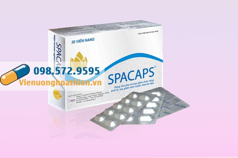 Spacaps - cải thiện sinh lý nữ